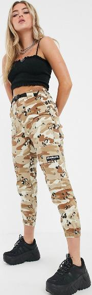 Cargo Trouser With Belt