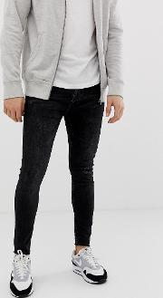 Join Life Super Skinny Jeans With Knee Rip