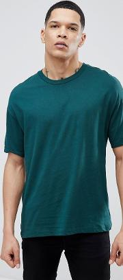 oversize fit  shirt in green