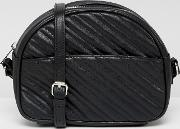 quilted cross body bag