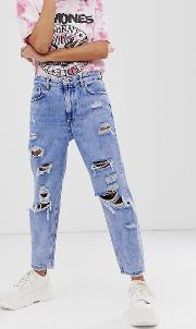 Super Ripped Mom Jeans