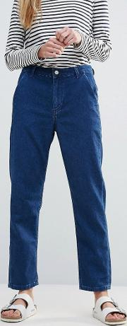 bethanls murphy slant pocket tapered jean