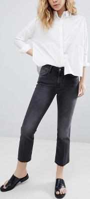 Tilly Cropped Kick Flare Jeans