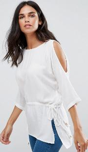 River  Sleeve Top