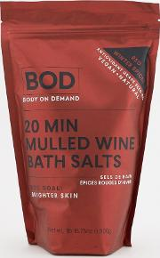20min mulled wine bath salts
