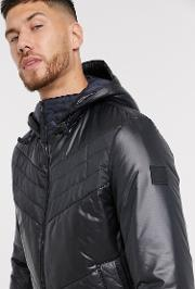 Opalm Quilted Jacket With Hood