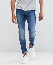 By Hugo   72 Skinny Fit Jeans  Light Wash