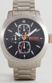 by hugo boss 1550029 capetown bracelet watch in silver