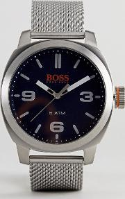 by hugo boss hong kong watch with blue dial