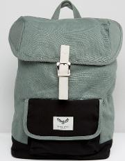 backpack with contrast pocket