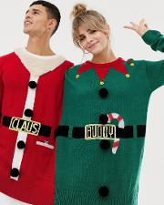 Bravesoul Santa Claus And Buddy Elf Two Person Christmas Jumper