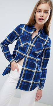 Diana Check Shirt