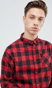 flannel buffalo check shirt