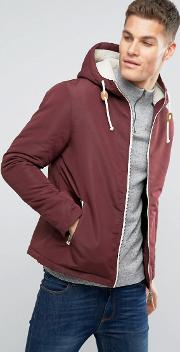 Hooded Jacket With Toggles