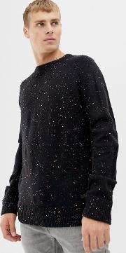 Multi Fleck Knit Jumper