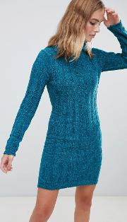 Perrie Roll Neck Jumper Dress