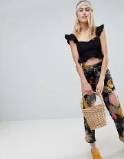 pixi floral trousers