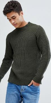 Soft Oversize Crew Neck Knit