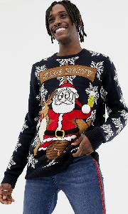 Stag Party Christmas Jumper