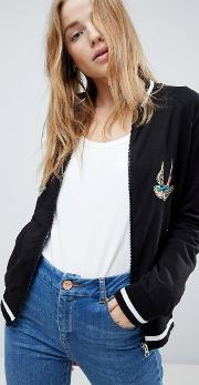 swallow bomber jacket