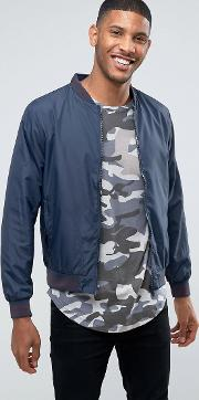 tipped cuff bomber