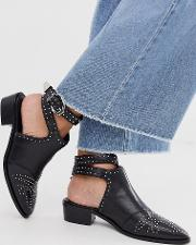 Cut Out Western Shoes
