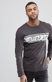 Brooklyn Supply Co Skater Stand Long Sleeve