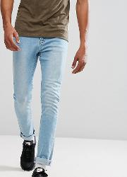 Light Wash Jeans In Skinny Fit