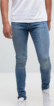 Stonewash Hunter Spray  Denim Jeans