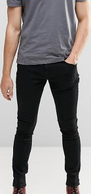 Washed Black Dyker Super Skinny Jeans