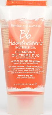 hairdressers invisible oil cleansing  creme duo shampoo 150ml