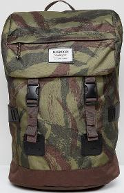backpack 25l in green camo