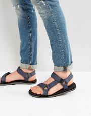 Asoedien Canvas Strap Sandals