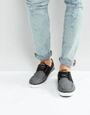 neasen chambray boat shoes