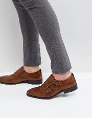 urbas monk shoes in tan