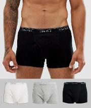 Cotton Classic 3 Pack Trunks