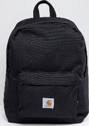 watch backpack in black