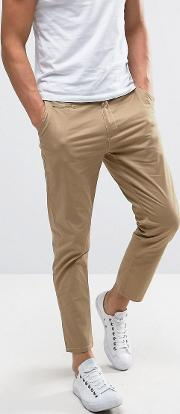 cropped chinos  slim fit