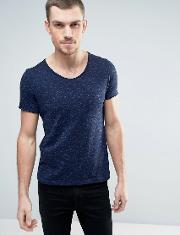 T Shirt With Scoop Neck