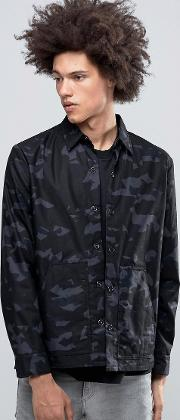 out shirt jacket camo space grey
