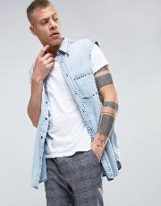 solder denim shirt