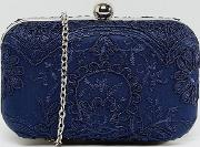 lace box clutch bag