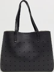 Perforated Lunor Unlined Tote Bag