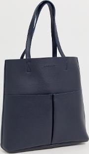 Unlined Tote With Removeable Pocket