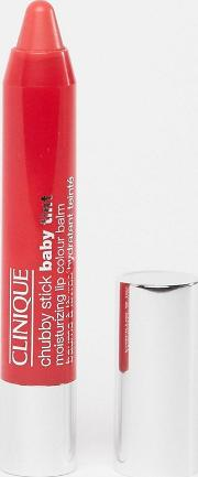 chubby stick intense moisturizing lip colour balm coming up rosy