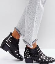 Studded Low Boot