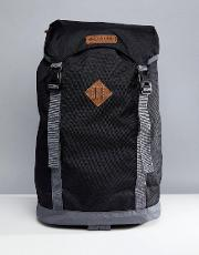 outdoor backpack 25 litres in black