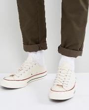 Chuck Taylor All Star '70 Ox Plimsolls In Parchment 142338c