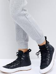 chuck taylor all star hi top boot in black