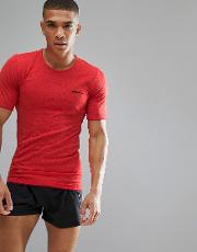sportswear active comfort running knitted  shirt top  red 1903792 2566